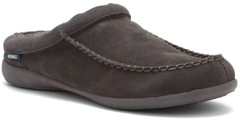 Vionic Barrow Mens Faux shearling-lined slipper