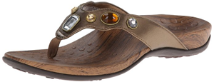 Vionic with Orthaheel Womens Eve Thong Sandals